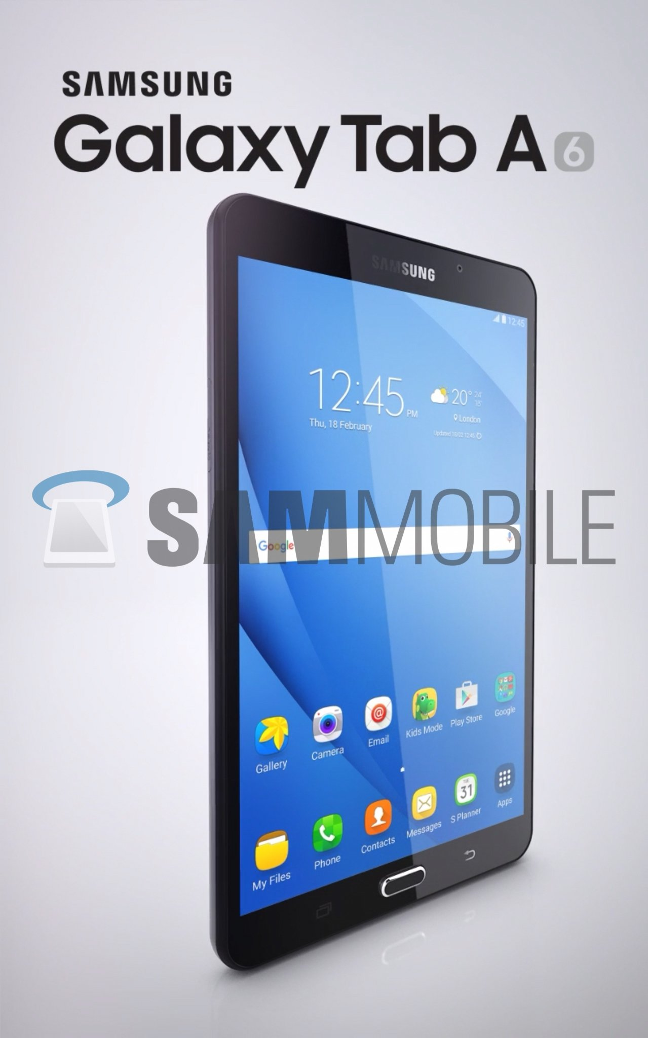 galaxy tab a 2016 quietly listed on samsung 39 s website. Black Bedroom Furniture Sets. Home Design Ideas