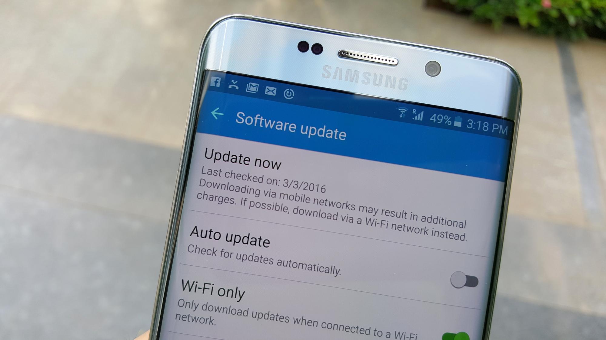 3-3-2016 Firmware Updates: Galaxy S6, Galaxy Note Edge, Galaxy Alpha