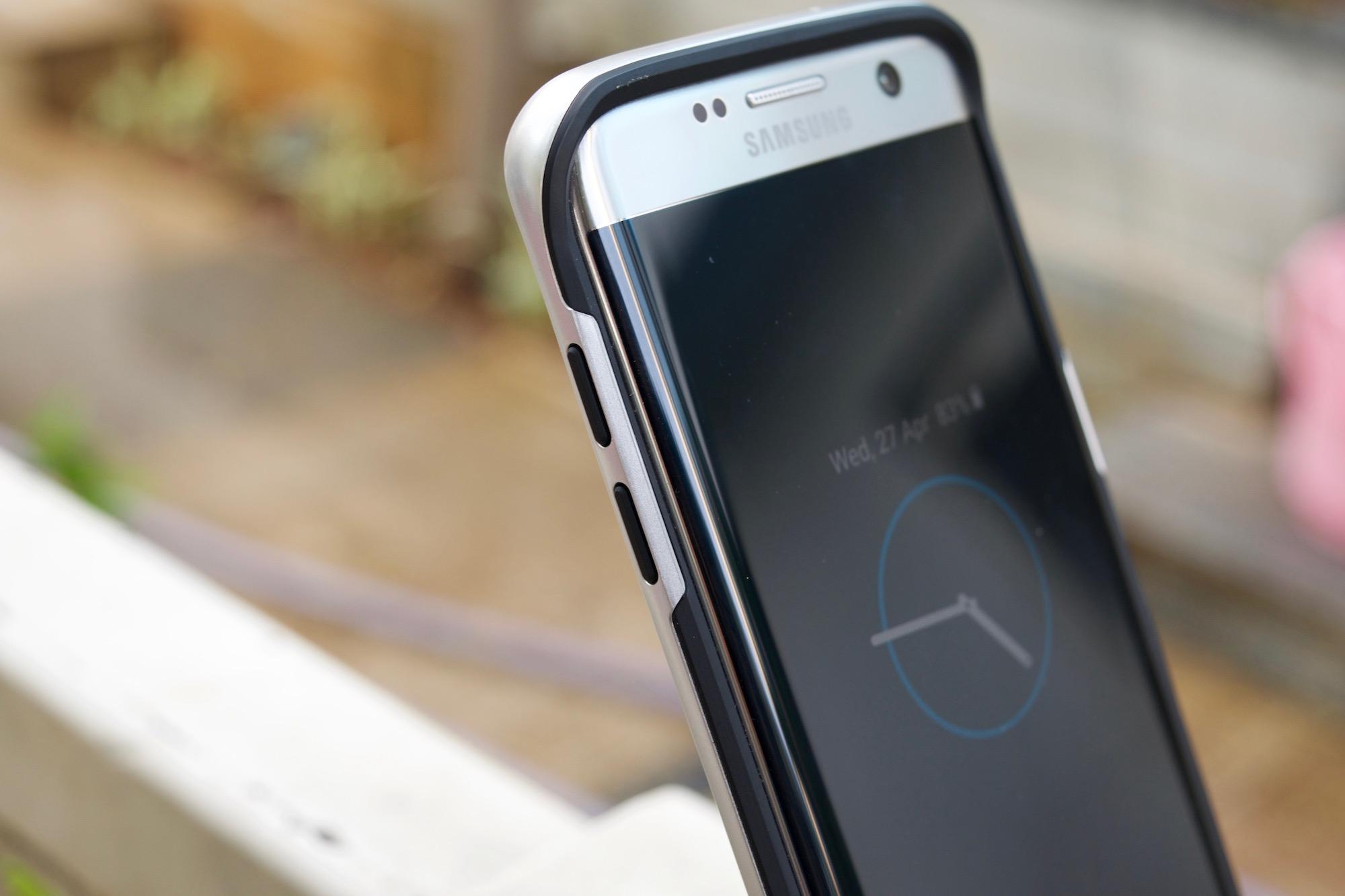 the best attitude 89a90 00243 Samsung Galaxy S7 edge Spigen Neo Hybrid case review - SamMobile ...