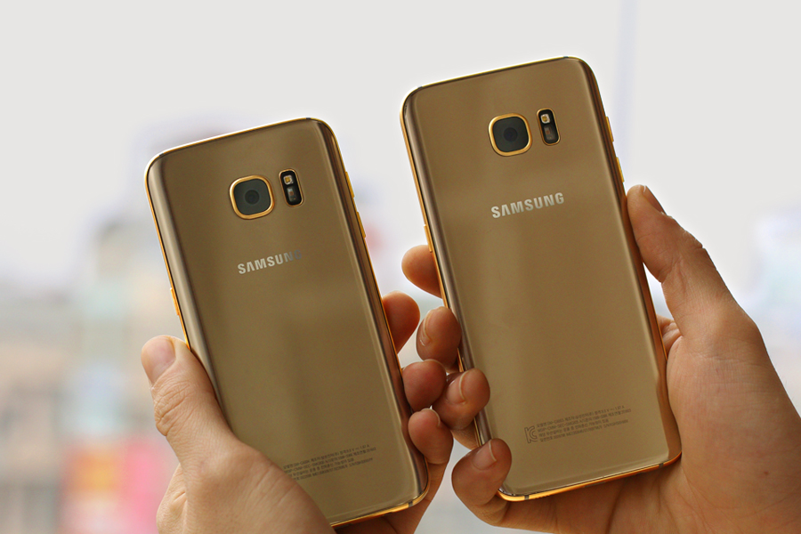 karalux releases the galaxy s7 and galaxy s7 edge in 24k gold sammobile sammobile. Black Bedroom Furniture Sets. Home Design Ideas
