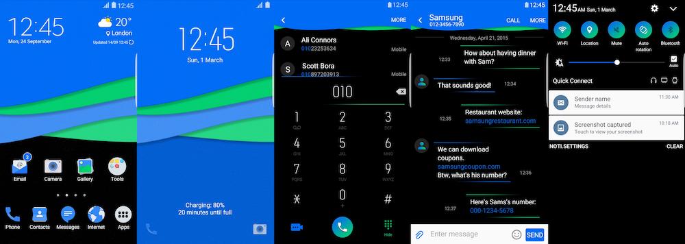 Samsung Galaxy Theme - Bleex