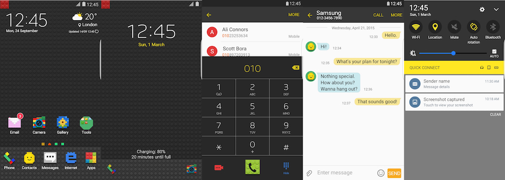Samsung Galaxy Theme - Picxel [ZEMSTONE]