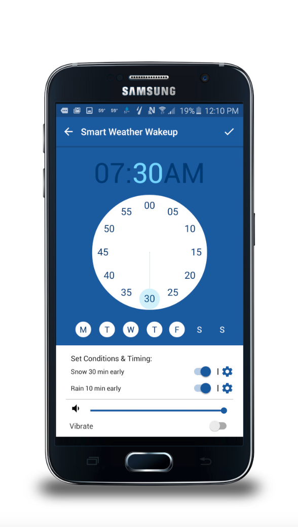 samsung teams up with the weather channel to launch