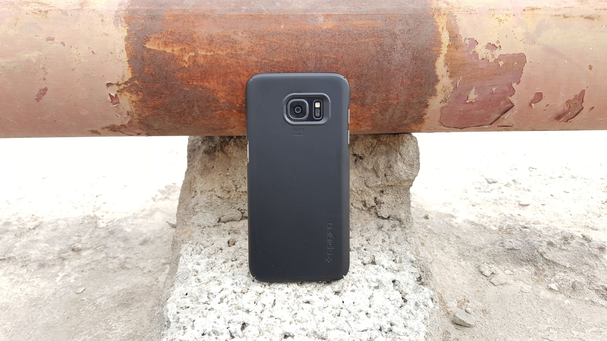 timeless design 97440 a408c Samsung Galaxy S7 edge Spigen Thin Fit Case review - SamMobile ...