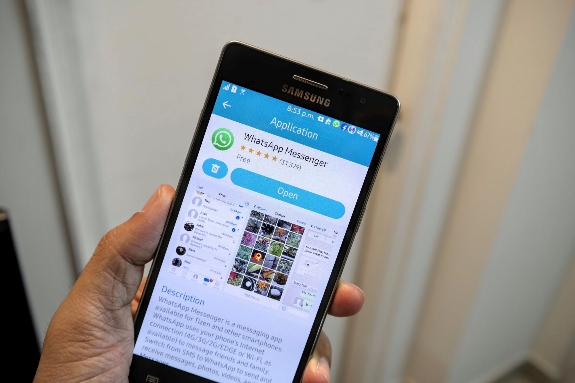 WhatsApp for Tizen gets voice calling support on the Samsung