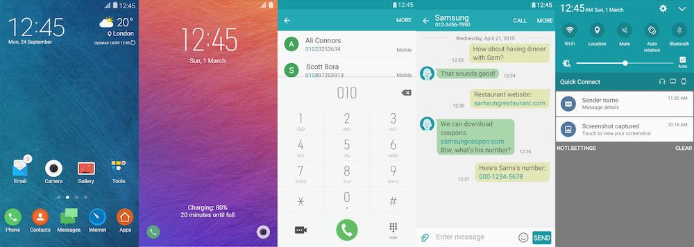 Samsung Galaxy Theme - AquaUI