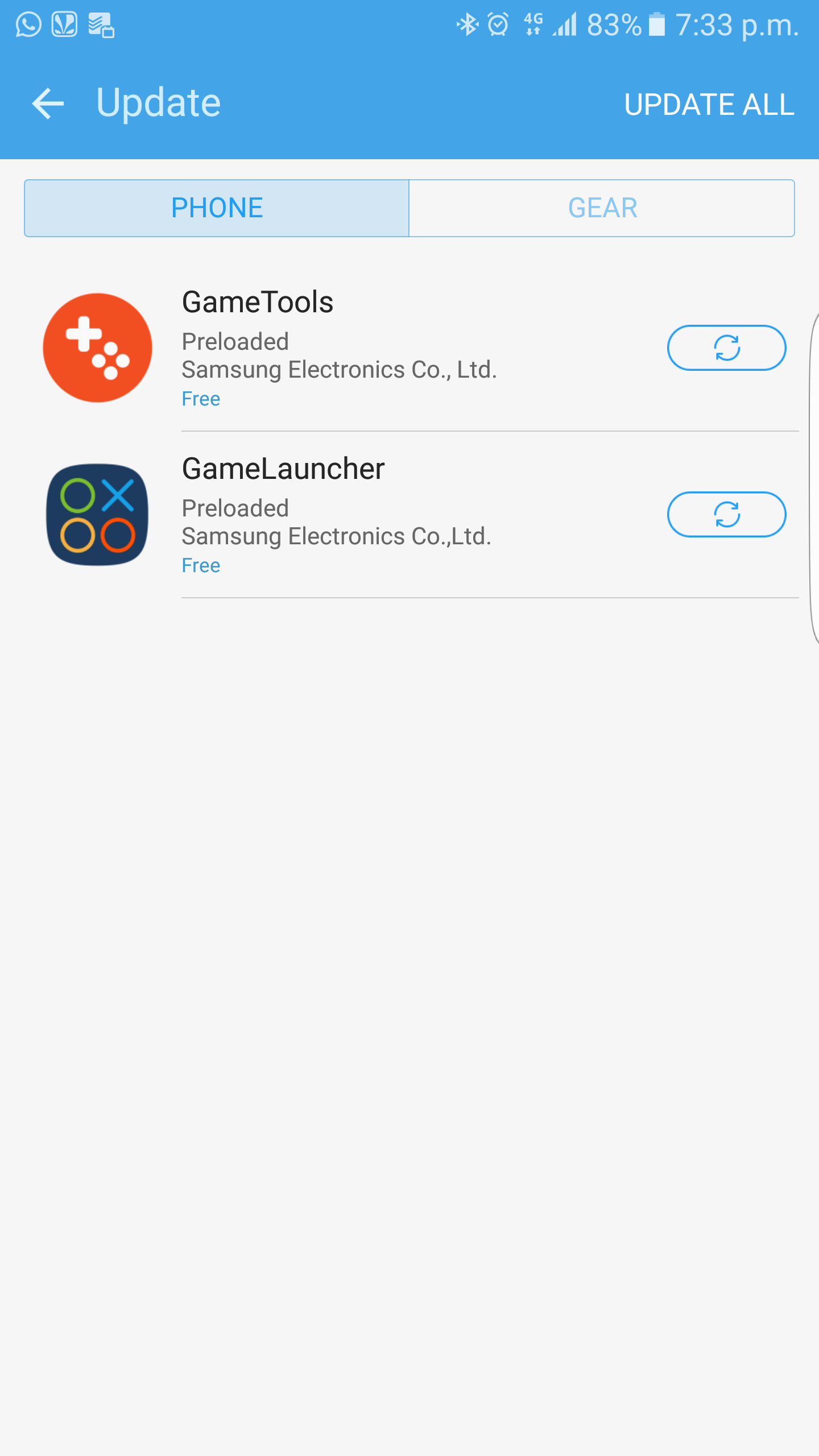how to delete game launcher on samsung