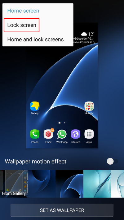 Home Screen Samsung J6 Wallpaper Hd Homelooker