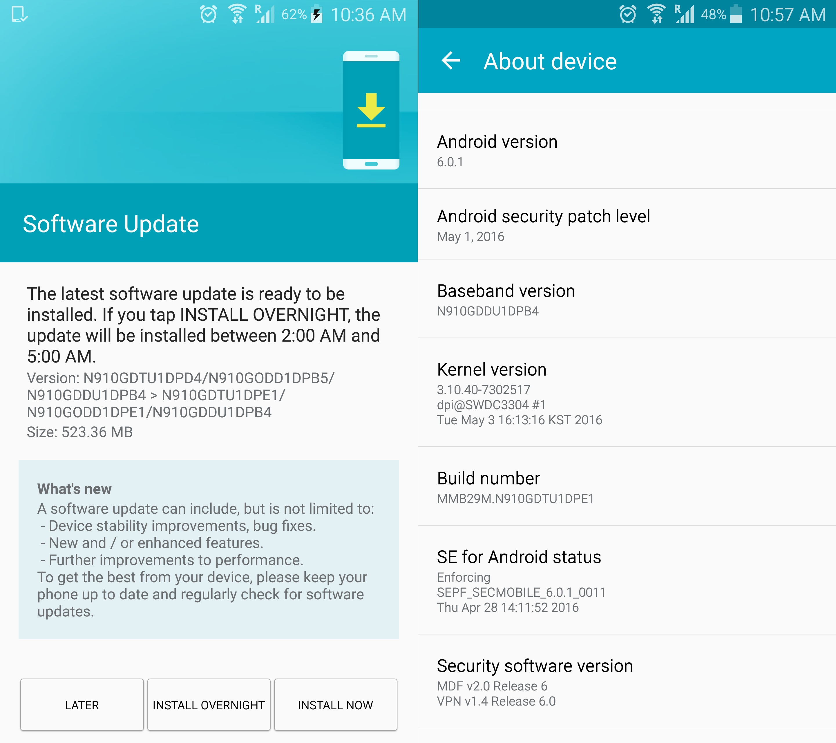 Galaxy Note 4 gets another huge software update in India