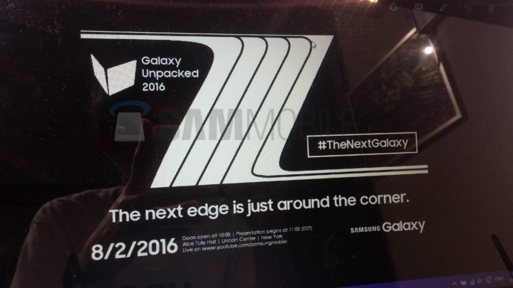 Samsung Galaxy Note 7 Edge August 2 Announcement SamMobile