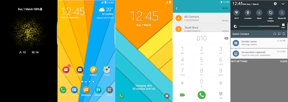 Samsung Galaxy Theme - Material Design Flat Theme