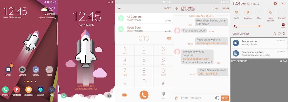 Samsung Galaxy Theme - [WoOS_Design] Rocket