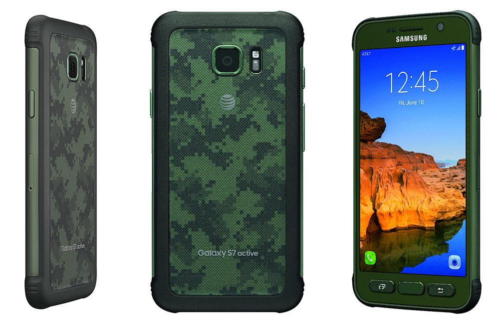Smartphone Samsung Galaxy S7 Active-Especificações e configurações