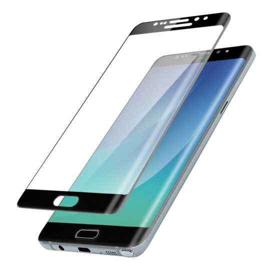 Samsung Galaxy Note 7 Black Tempered Screen Protector