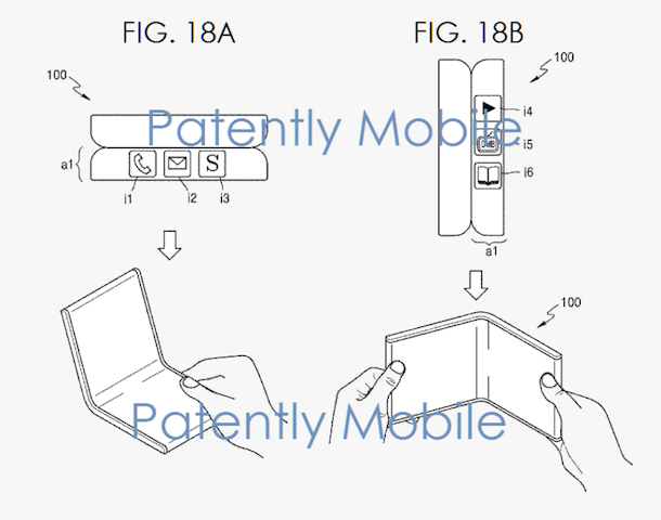 New Samsung patent details both foldable smartphones and ...