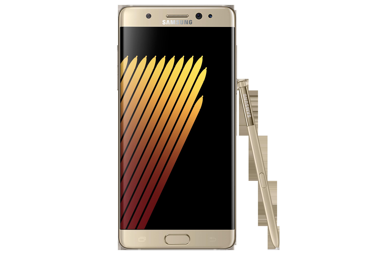 Samsung galaxy note 7 gold