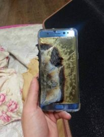Samsung Galaxy Note 7 Exploded While Charging
