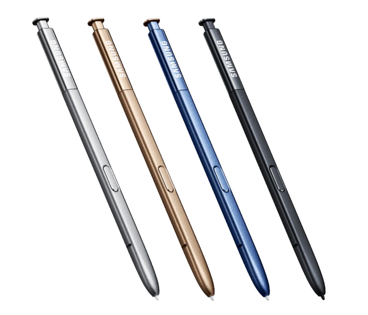 Samsung Galaxy Note 7 S Pen Colors