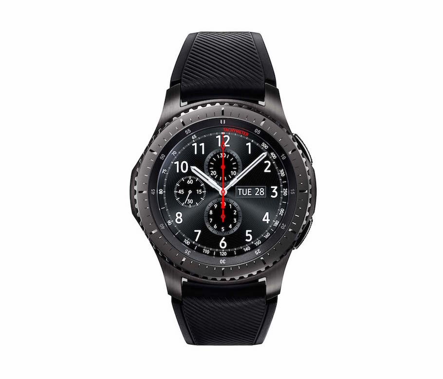 Samsung Gear S3 classic and Gear S3 frontier smartwatches ...