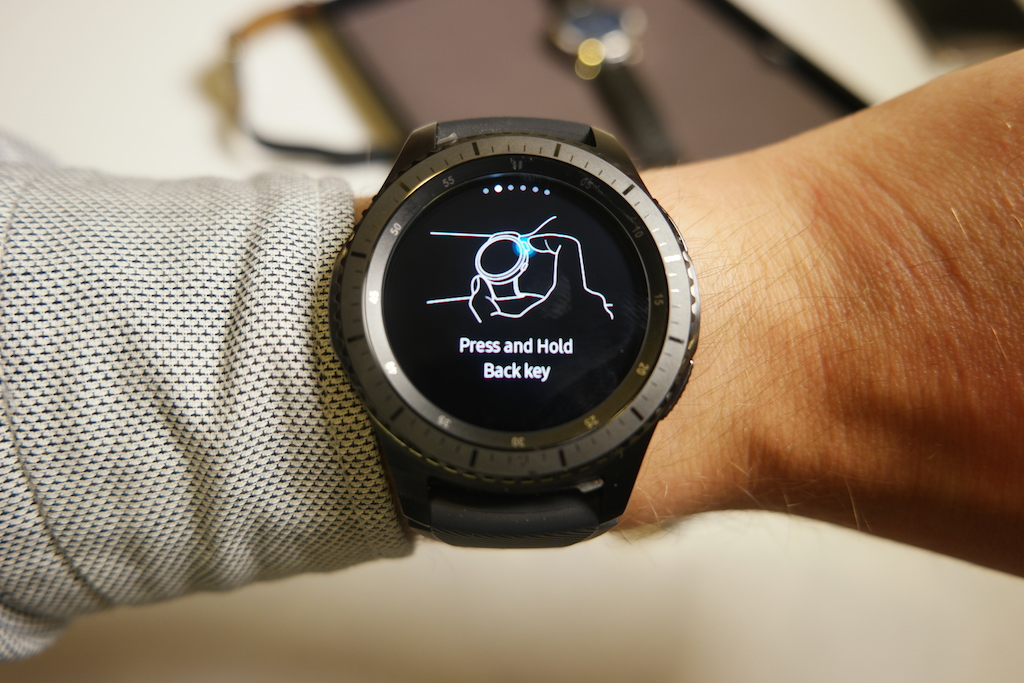 How To Use Samsung Pay On Gear S3 Pictures Sammobile