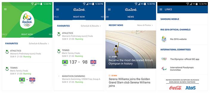 App Olympians gebruiken om hook up