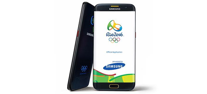 Download Galaxy S7 Edge Olympic Special Edition Theme For: Samsung Releases The Rio 2016 Official Application To