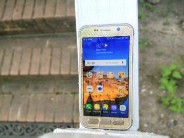 Galaxy S7 Active display