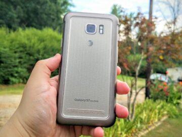 Galaxy S7 Active back