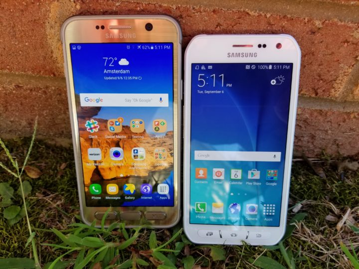 Galaxy S7 Active vs. S6 Active  - 1
