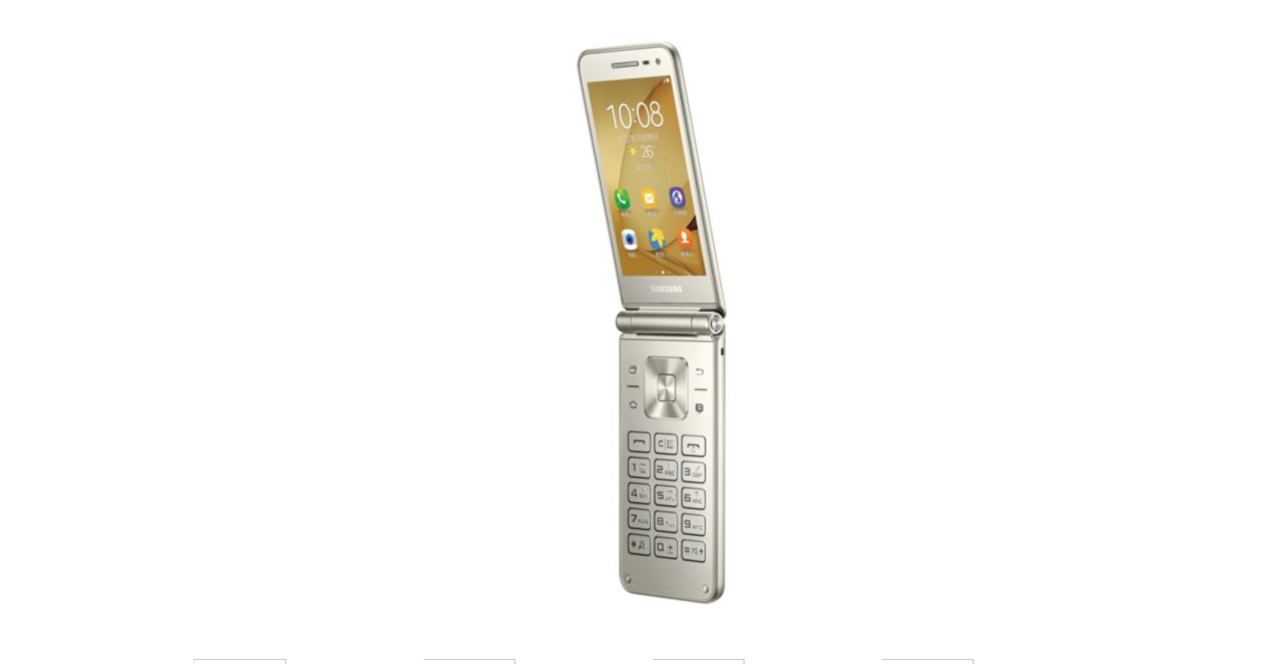 samsung galaxy folder 2 clamshell smartphone introduced in china