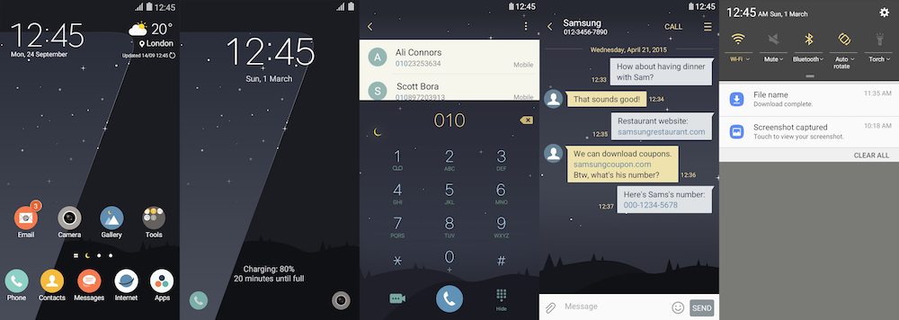 Samsung Galaxy Theme - [V] Midnight 7