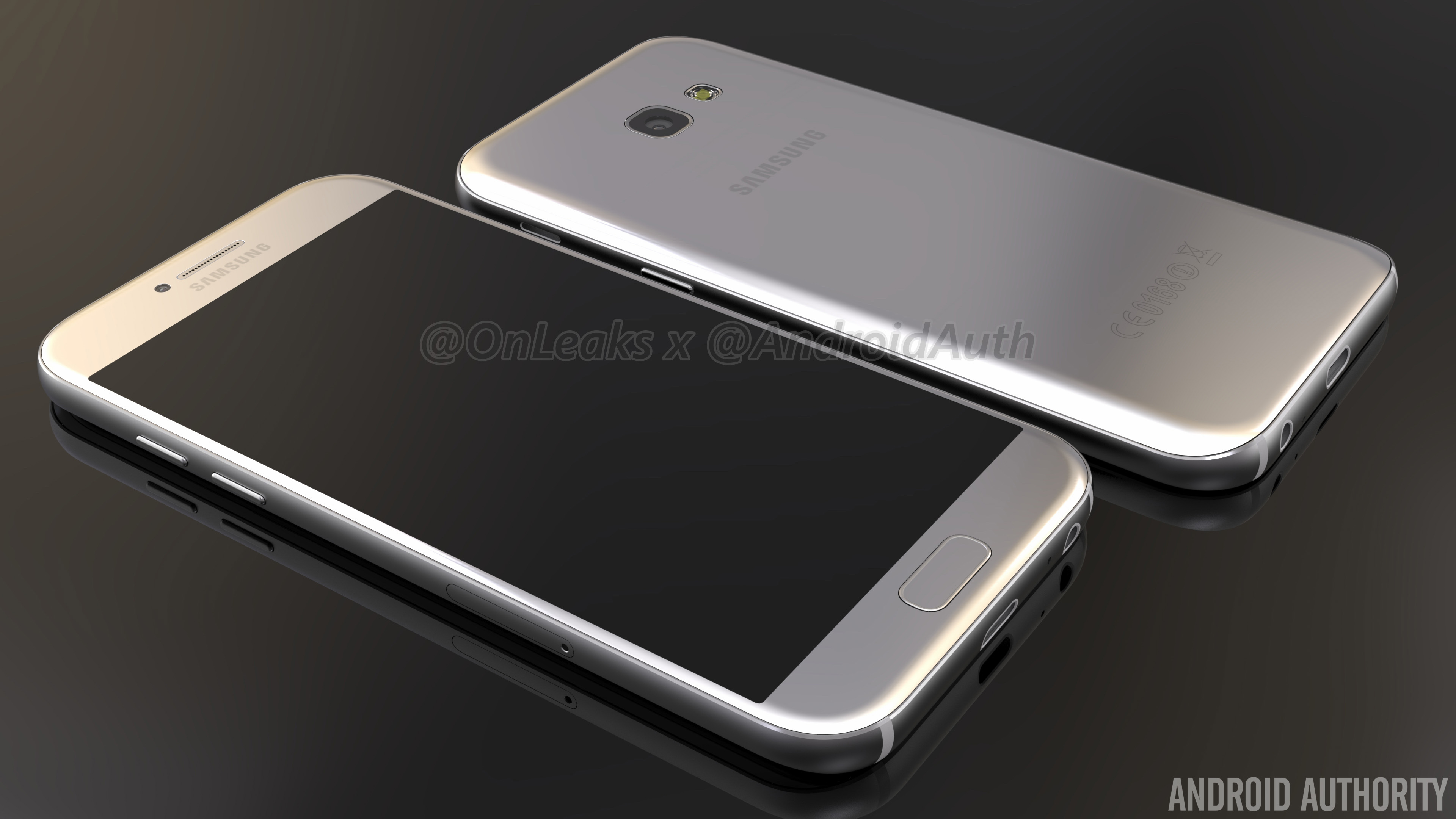 leaked galaxy a5 2017 renders hint at design changes
