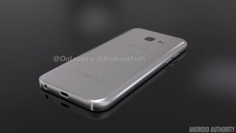 leaked galaxy a5 2017 renders hint at design changes   sammobile