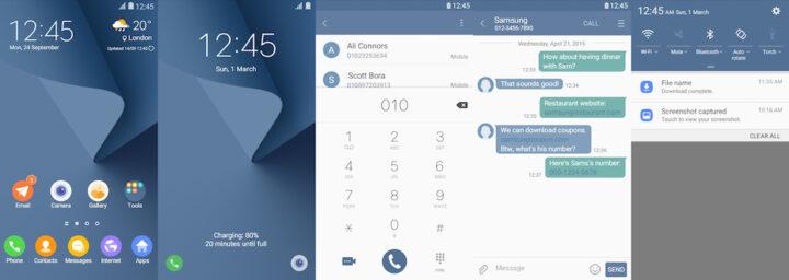Samsung Galaxy Theme - [HIO] Coral Blue2