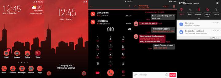 Samsung Galaxy Theme - [Kendi] Foxer UI