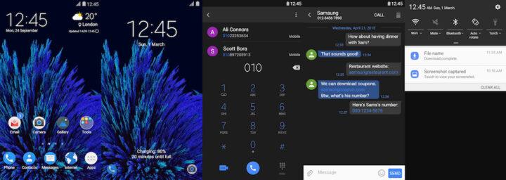 Samsung Galaxy Theme - [Kendi] Pix UI Dark