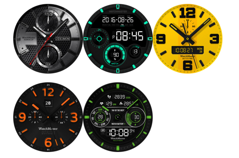 Facer android wear - Watchmaster And Romanson Unveil New Swiss Style Watch Faces For The