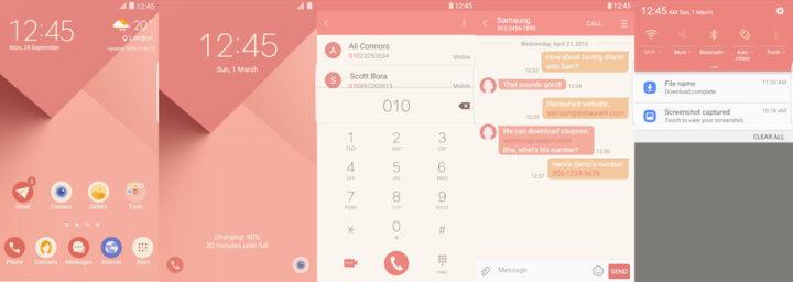Samsung Galaxy Theme - [HIO] Pink Blossom