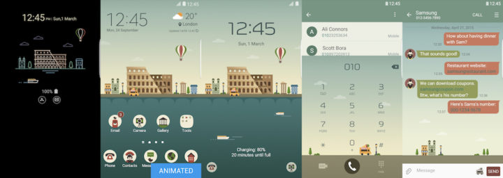 Samsung Galaxy Theme - Rome_MINDON Design