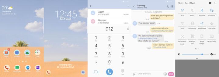 Samsung Galaxy Theme - Simple Desert - Free
