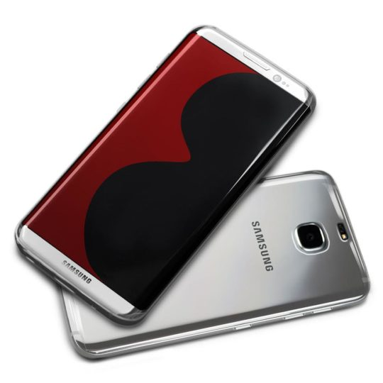 MobileFun - Olixar Ultra-Thin Samsung Galaxy S8 Case - Clear