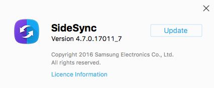 Samsung SideSync Update macOS - 03