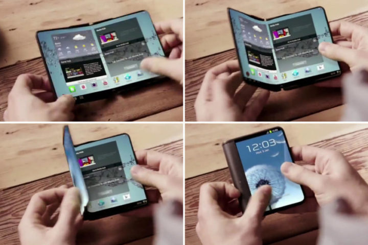 Samsung foldable smartphone patents consider multiple biometric ID forms