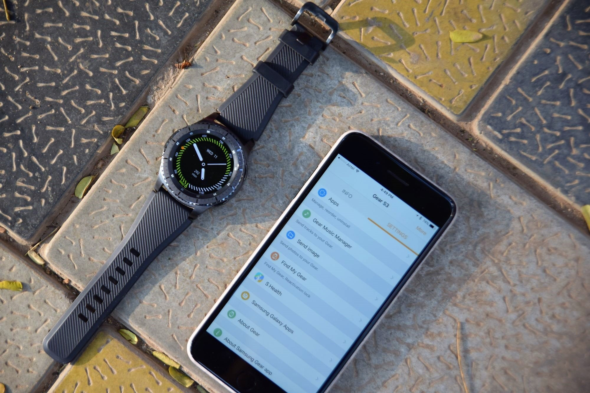 on sale 0c538 0a5ea Here's our experience of using the Gear S3 with an iPhone ...