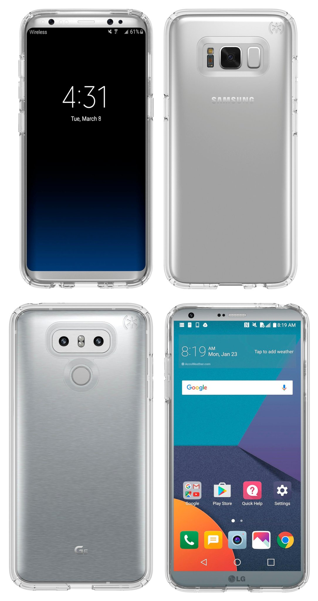 low priced 7b4ec 0424b Galaxy S8 clear case leaks in new photo - SamMobile - SamMobile