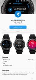 Run With Map My Run - Samsung Gear S2 S3