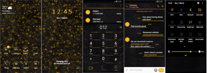 Samsung Galaxy Theme - [Soni] Auric UI