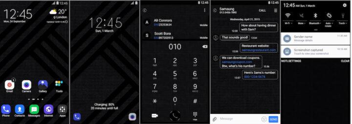 Samsung Galaxy Theme - [Soni] Black UI