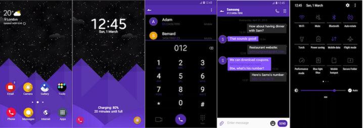 Samsung Galaxy Theme - [Soni] Bora UI