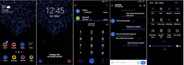 Samsung Galaxy Theme - [Soni] Hexo UI